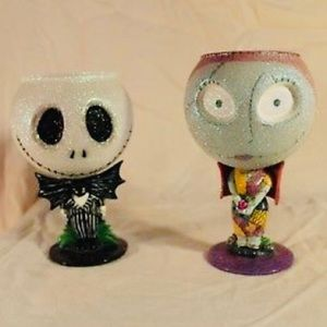 Nightmare Before Christmas Votive Candle Holders